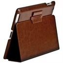 Чехол Sotomore для New iPad кожа коричневый (53929)