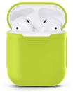 Чехол силиконовый Gurdini Soft Touch для AirPods зеленый