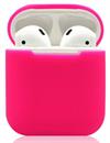 Чехол силиконовый Gurdini Soft Touch для AirPods малиновый