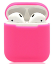 Чехол силиконовый Gurdini Soft Touch для AirPods розовый