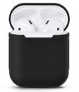 Чехол силиконовый Gurdini Soft Touch для AirPods черный